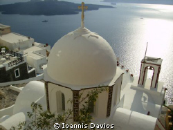 Fira Santorini Greece by Ioannis Davios 